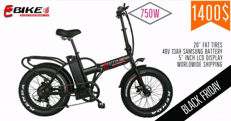Black friday 2018 with Electric Bike 2018